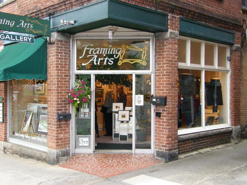Framing Arts at 119 3rd Avenue West, Hendersonville, NC