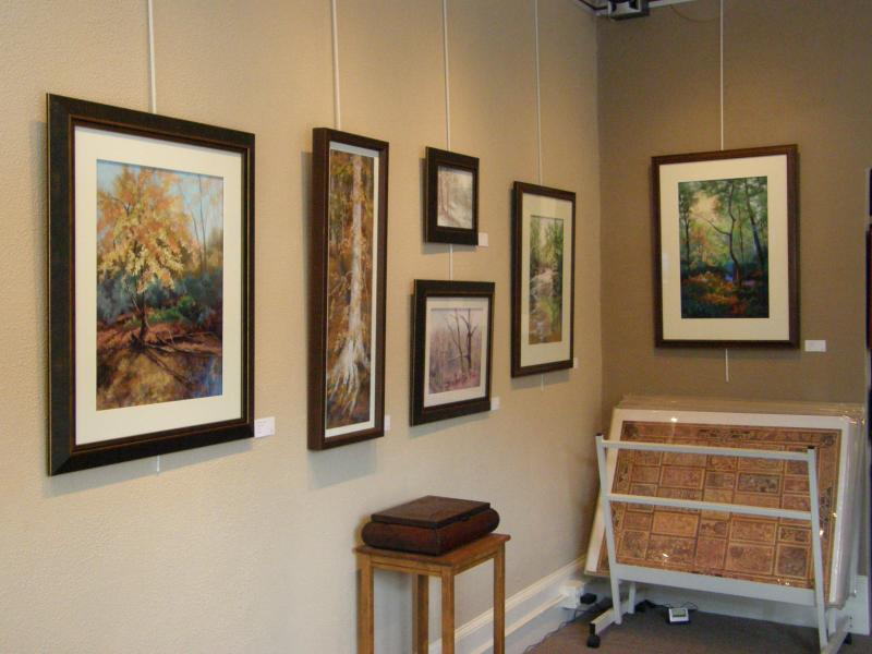 Artwork in Framing Arts&#39; gallery by artist Kate Thayer