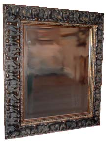 Custom frame a mirror to enhance your decor