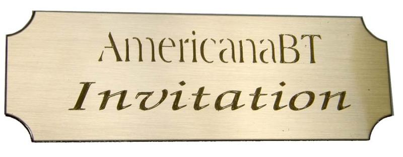 Engraved brass plates now available